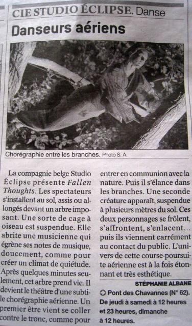 Le Journal Chalon dans la Rue 25 juillet 2013